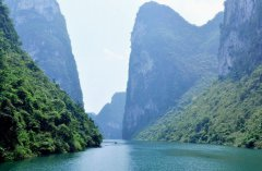 The Small Three Gorges in Hechi