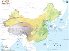 Major Rivers in China