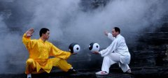 "Chinese Taijiquan set foot on the ""inscription"" of the road"