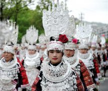 Miao Sisters Festival celebrated in SW China's Guizhou