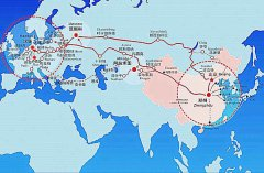 China-Europe freight trains